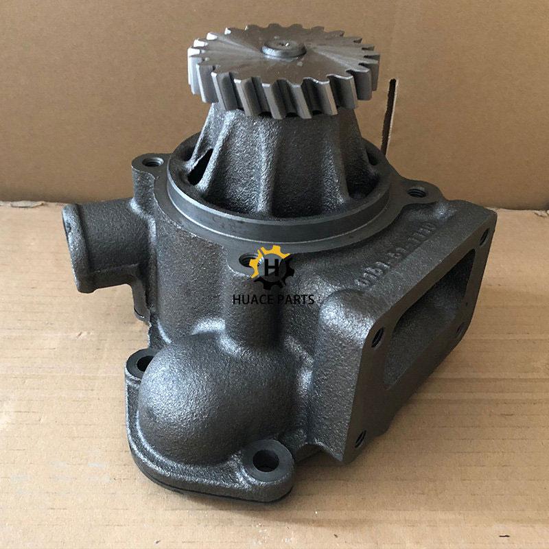 komatsu water pump 6151-61-1100 for excavator parts