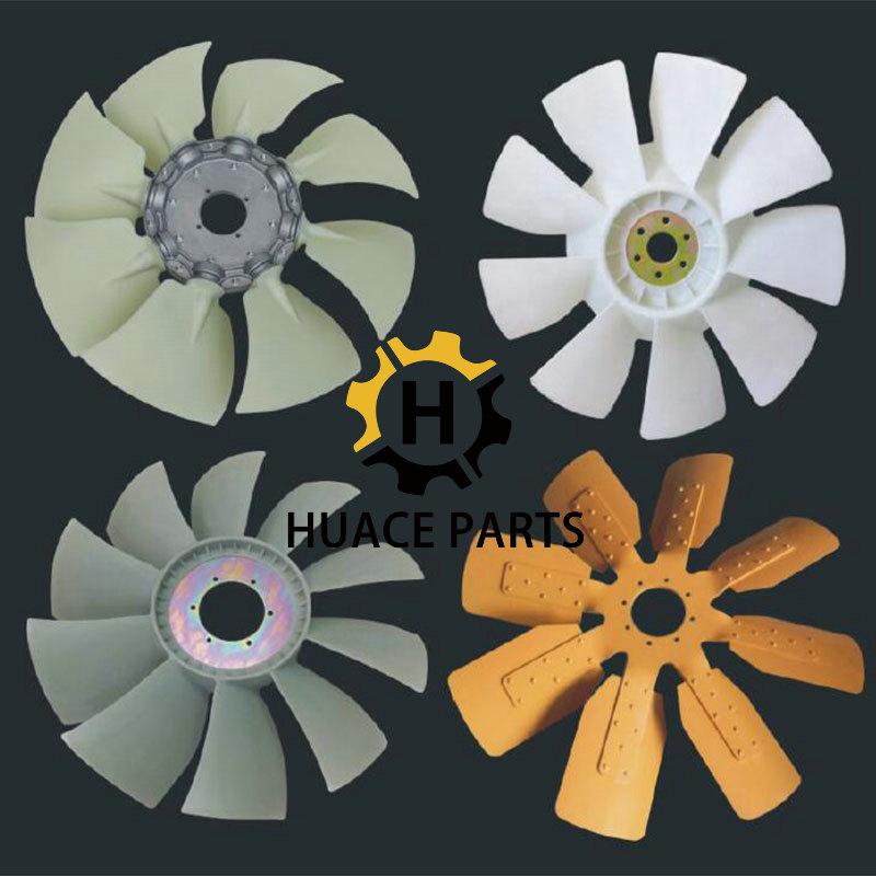 YM129900-44700 Fan Blade Forklift 4D94E