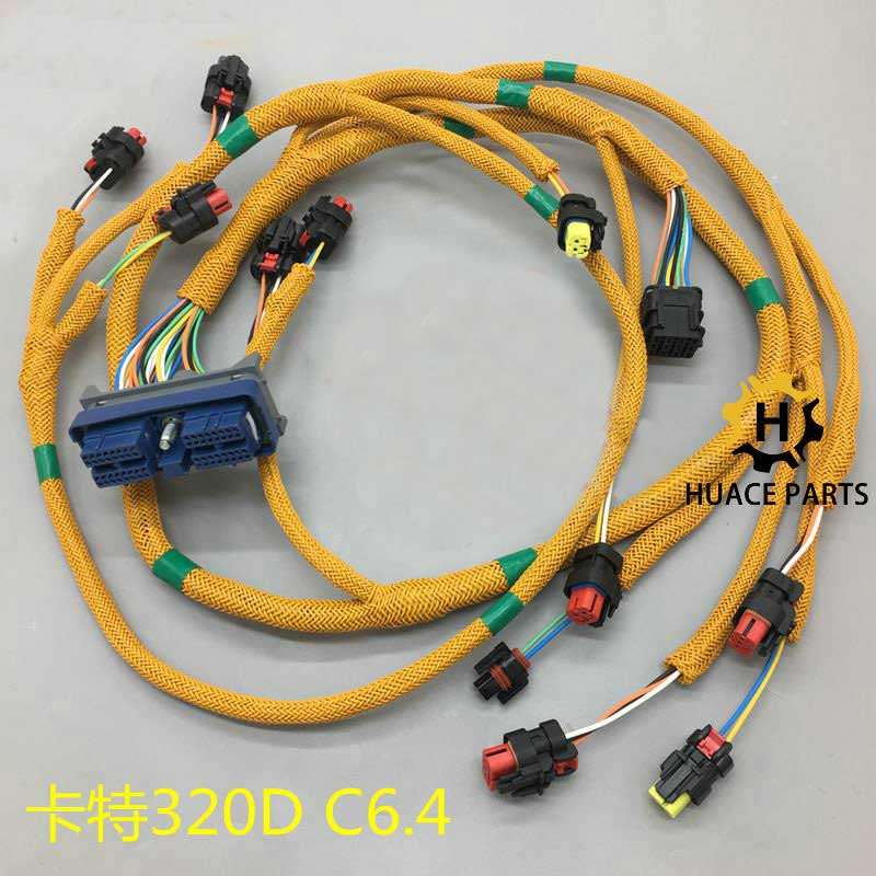 E320D engine wire harness 296-4617