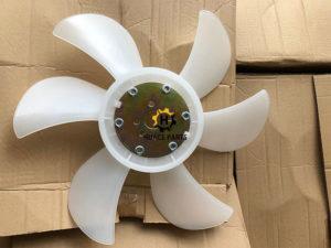forklift 4D94E YM129900-44700 Fan Blade Komatsu Dozer D20-7
