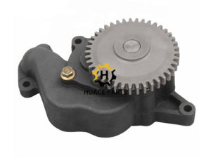 Aftermarket Komatsu 6D108 engine oil pump 6221-53-1100 for excavator PC300-6