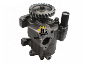 Replacement parts of 6128-52-1013 Komatsu engine S6D155 oil pump for Bulldozer