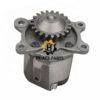 Replacement parts of 6151-51-1005 Komatsu engine S6D125E oil pump for Bulldozer