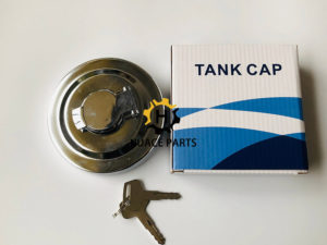 Aftermarket Komatsu fuel cap 20Y-04-11160 for PC200-5 excavator
