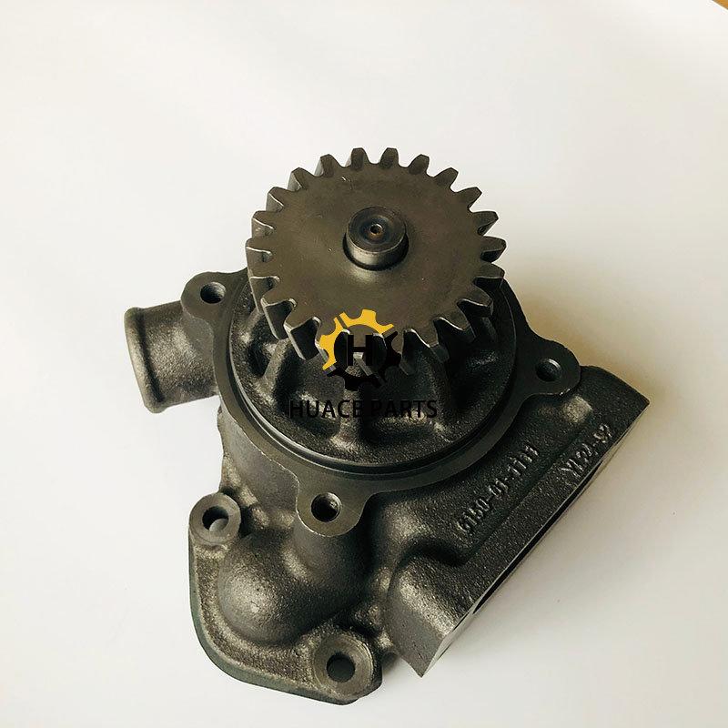 S6D125 Komatsu water pump assy 6150-61-1102 for Bulldozer
